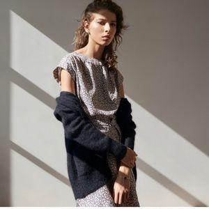 Jennifer Meyer Navy Blue Sweater